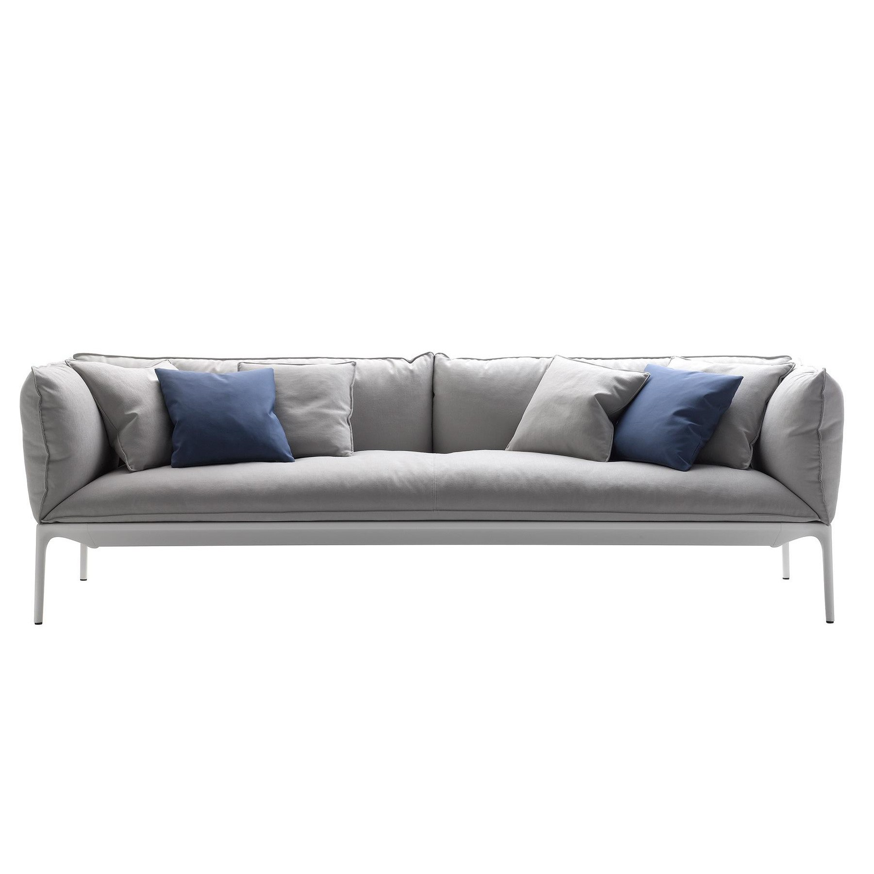 mdf italia yale s3 sofa 3 seater down filling ambientedirect rh ambientedirect com