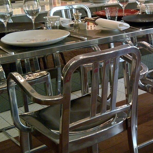 emeco heritage stacking armchair ambientedirect