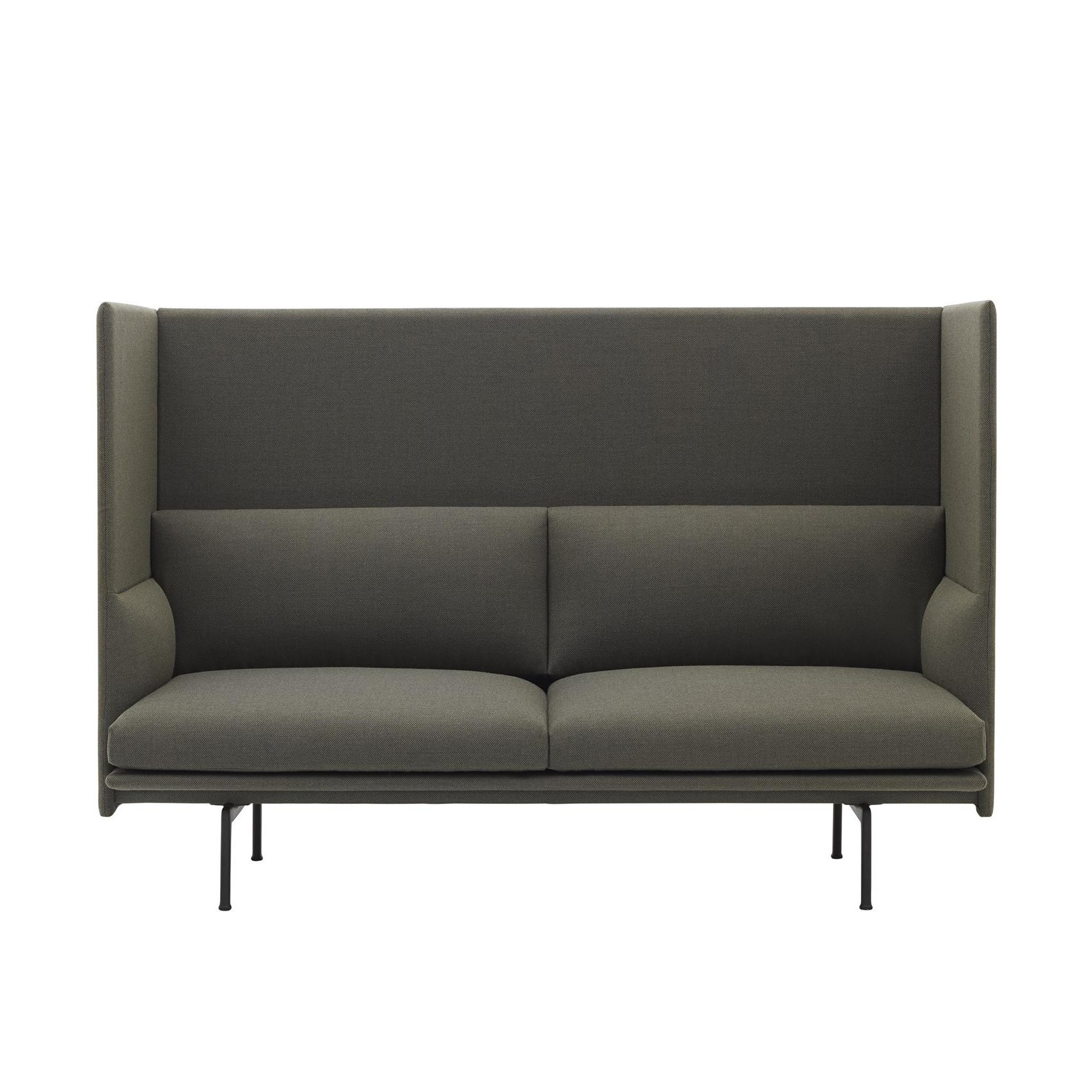 Muuto Outline Highback Sofa 2 Seater Ambientedirect