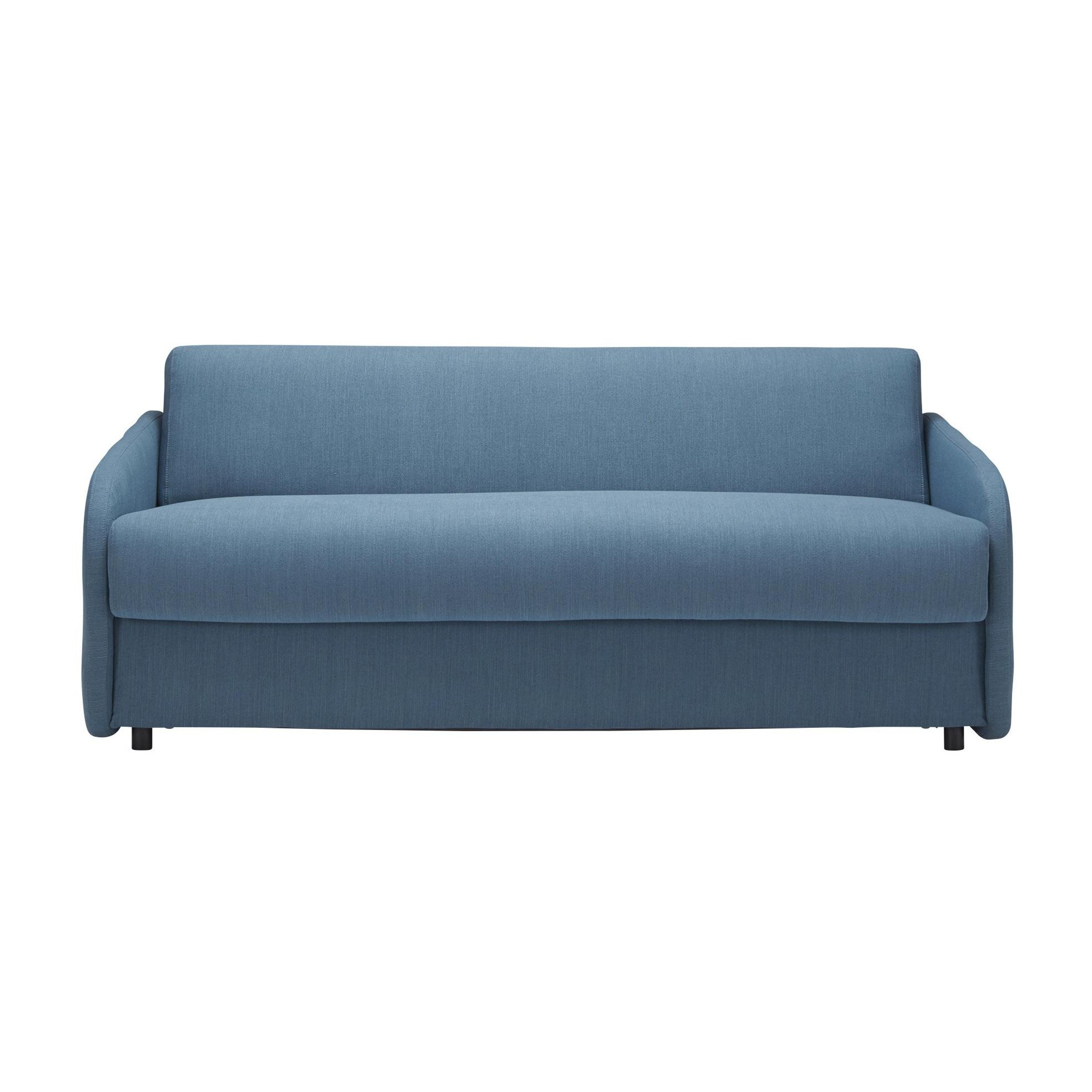 Innovation Eivor Sofa Bed With Mattress Petrol Fabric 519 Elegance Freon