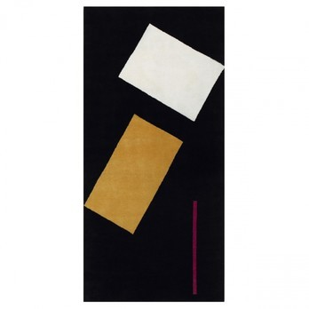 ClassiCon - Bonaparte Teppich - schwarz / 210x100cm