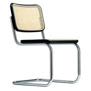 Thonet - Chaise cantilever S 32 V avec clayonnage en roseaux