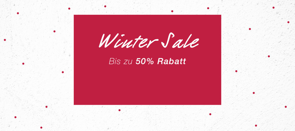 Winter Sale Presenter Home DE