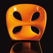Kundalini - Hara Chair - orange/fibreglass