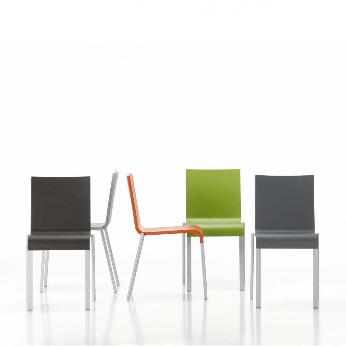 03 stoel niet stapelbaar vitra for Vitra stuhl fake