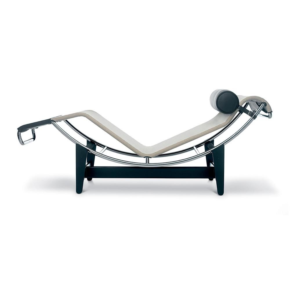 Le corbusier lc4 lounger cassina cassina for Chaise longue interieur