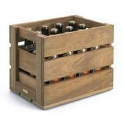 Skagerak - Dania Holzkiste/Bierkasten - teak/31x22x2cm/für 12 normale Bierflaschen