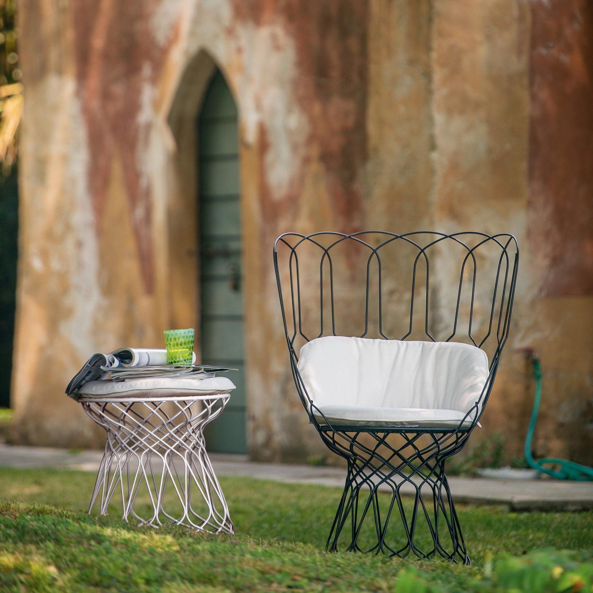 emu Re-Trouvé Garden Side Table / Stool | AmbienteDirect