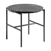 HAY - Table d'appoint Rebar marbre Ø45cm