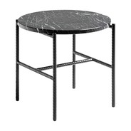 HAY - Table d'appoint Rebar marbre Ø45cm