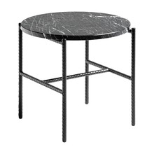 HAY - Rebar Side Table Marble Ø45cm