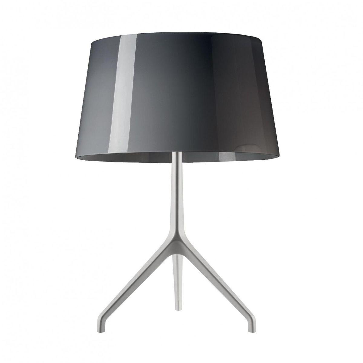 Lumiere xxs aluminium table lamp foscarini ambientedirect foscarini lumiere xxs aluminium table lamp greyframe aluminiumh 40cm geotapseo Image collections