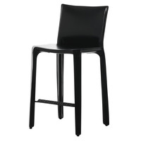 Cassina - Cab Mario Bellini Core Leather Barstool 68cm