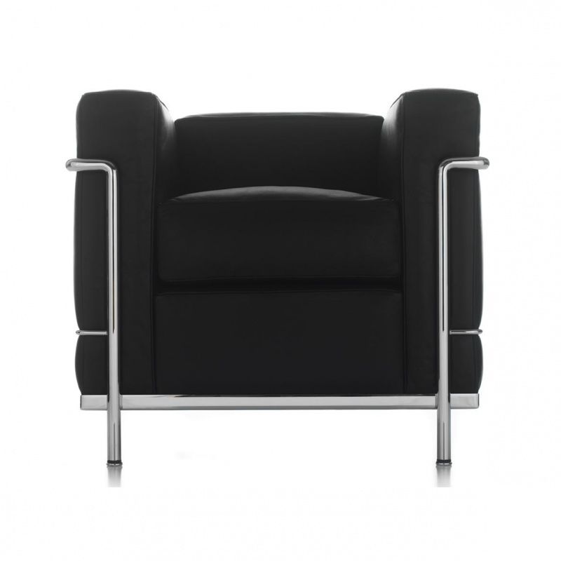 le corbusier lc2 armchair cassina. Black Bedroom Furniture Sets. Home Design Ideas