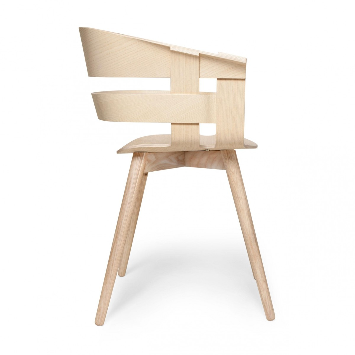 Wick Armchair With Wooden Frame Designhousestockholm
