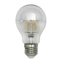 QualityLight - LED E27 BULB MIRRORED DOME 5W => 25W