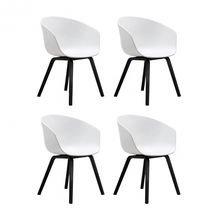 HAY - HAY About a Chair 22 Armlehnstuhl 4er Set