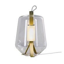 Prandina - Luisa T1 LED Table Lamp Brass Base