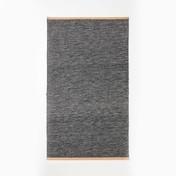 DesignHouseStockholm - Björk Teppich - dunkelgrau/70x130cm