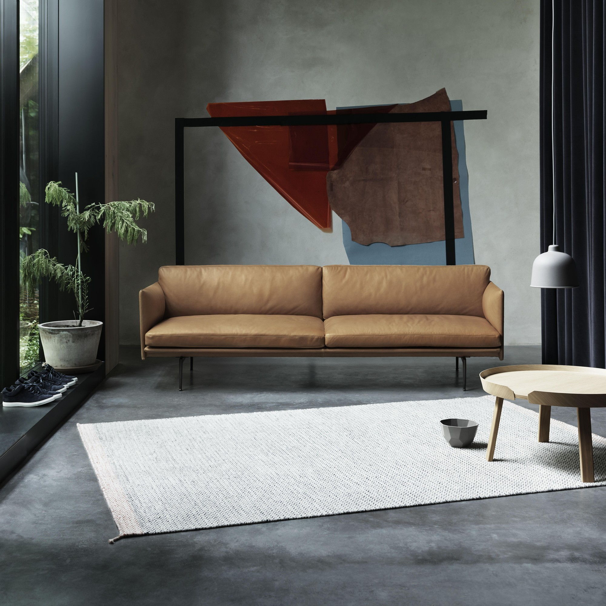 Muuto Outline Sofa 3 Seater Ambientedirect