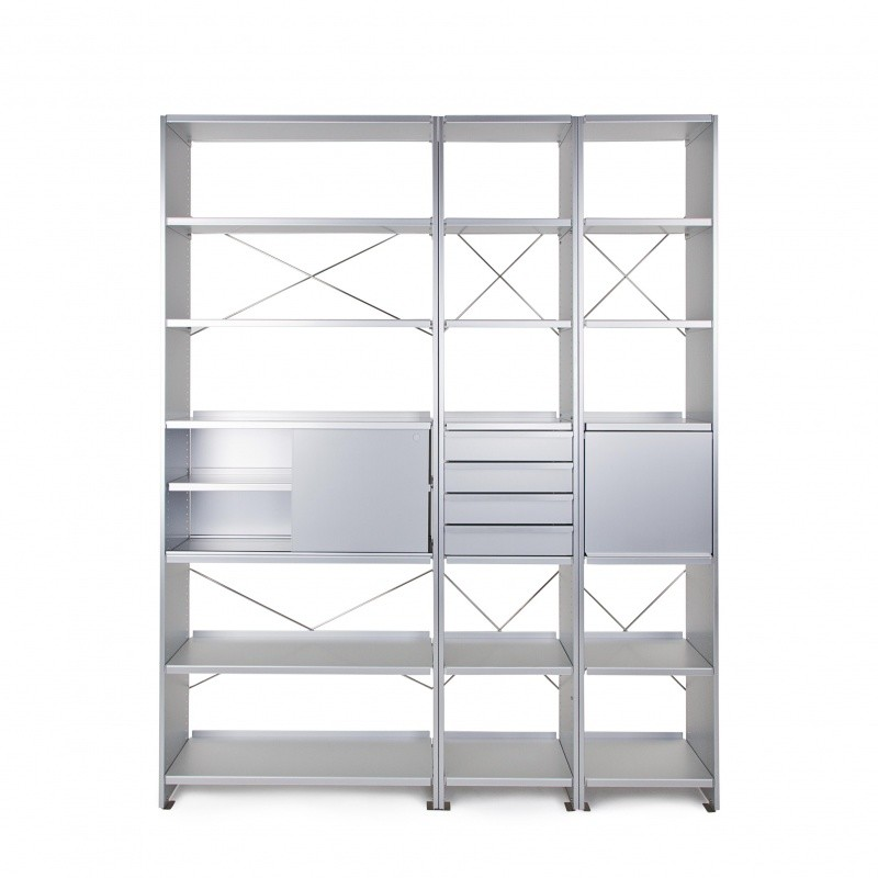 lehni aluminium office regal lehni regalsysteme. Black Bedroom Furniture Sets. Home Design Ideas