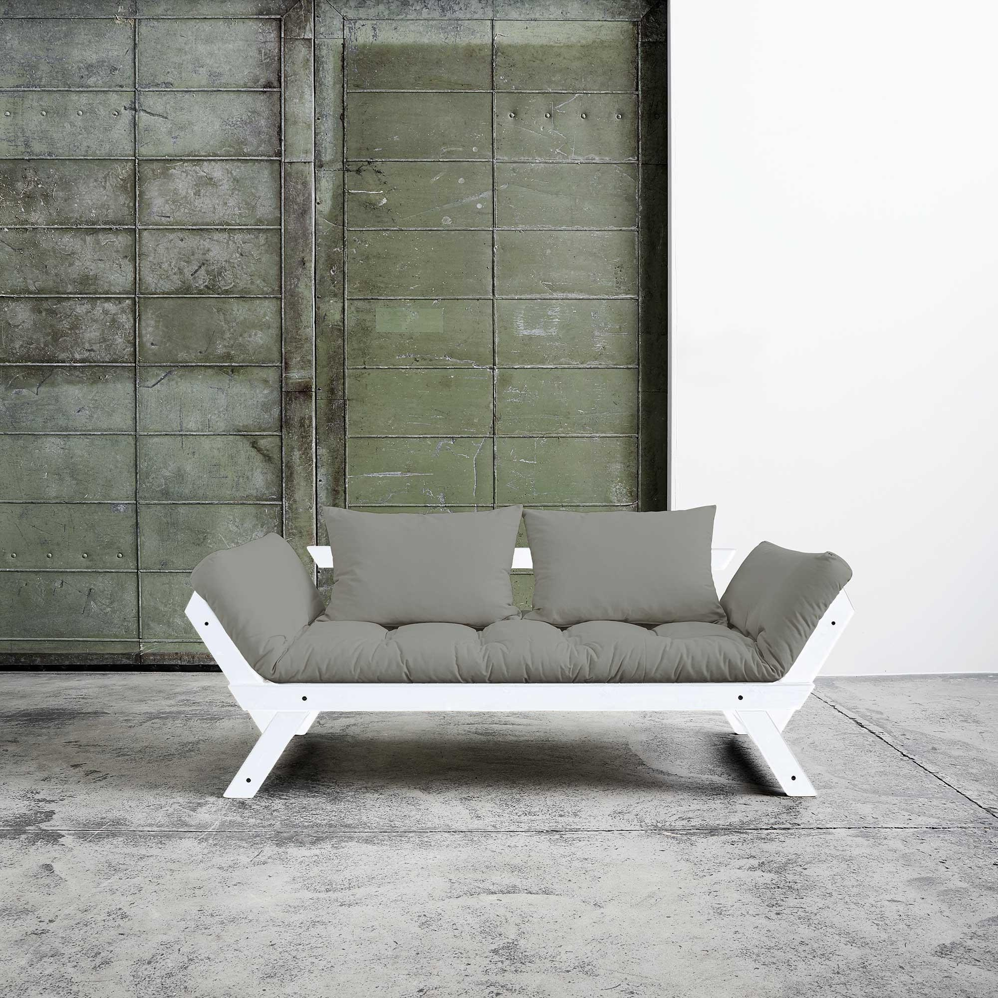 Karup Bebop Sofa Bed White Laquered