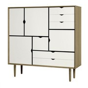 Andersen Furniture - Andersen Furniture S3 Kommode Fronten weiß