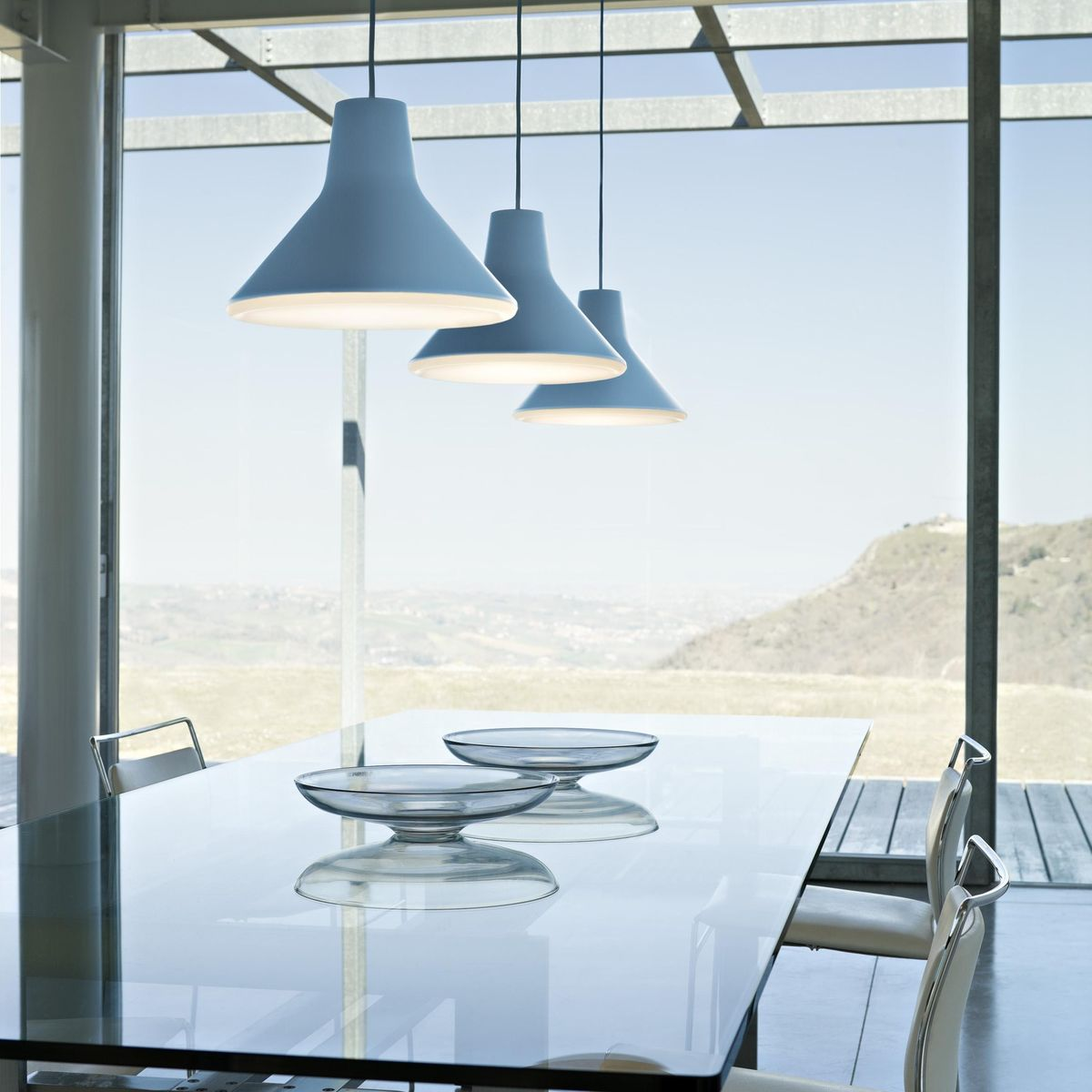 archetype led suspension lamp luceplan. Black Bedroom Furniture Sets. Home Design Ideas