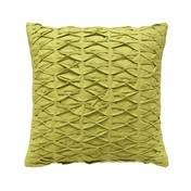 Schöner Wohnen Kollektion - Stitch Kissenbezug 45x45cm - grün/Rückseite ohne Muster