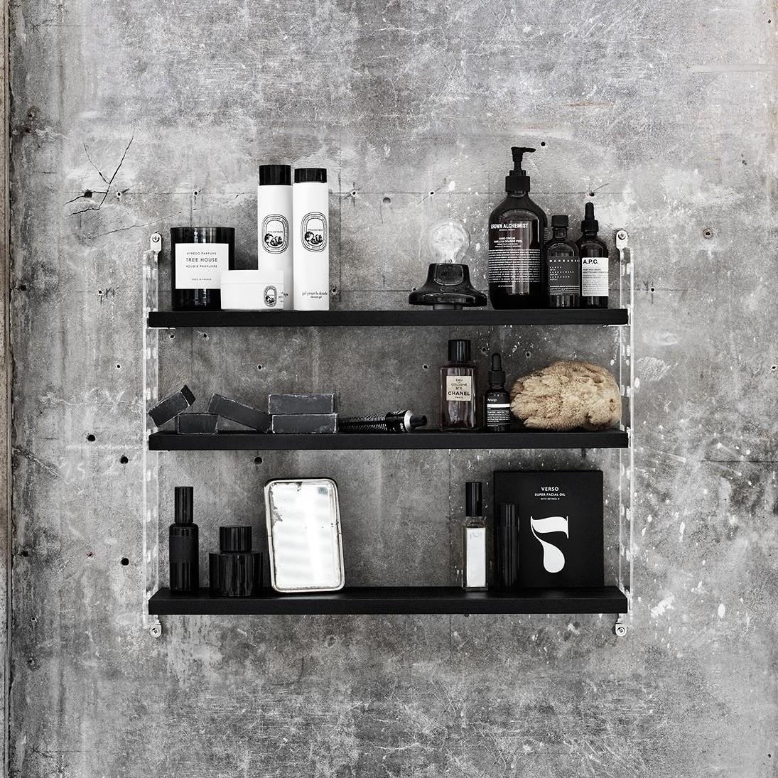 string plex pocket regal string. Black Bedroom Furniture Sets. Home Design Ideas