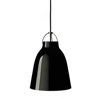 Lightyears - Caravaggio P2 BlackBlack Pendelleuchte - schwarz/glänzend/Ø25.8cm