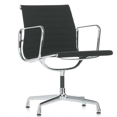 Charles Eames Vitra Bureaustoel.Vitra Ea 108 Aluminium Chair Bureaustoel Ambientedirect