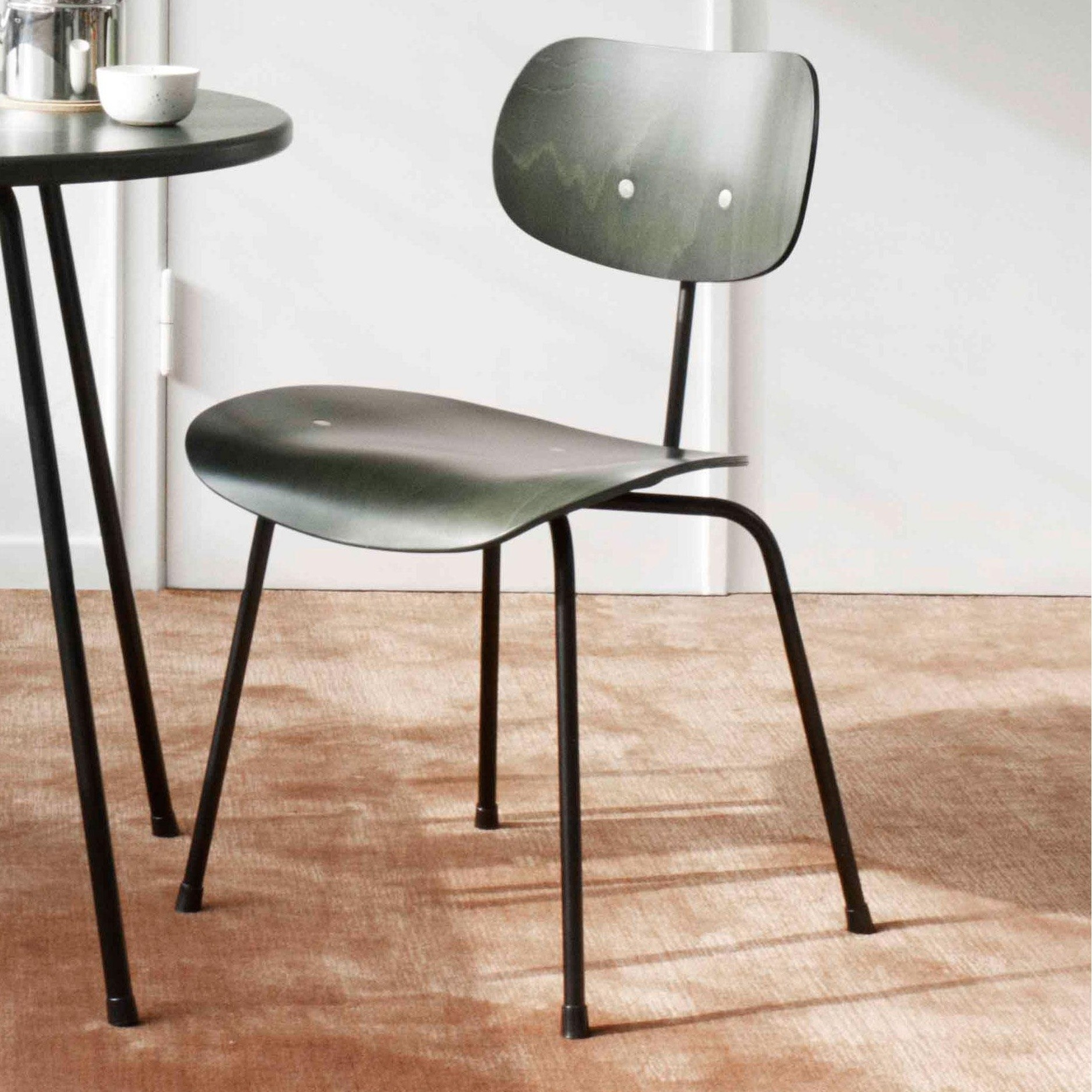 Wilde Spieth Eiermann Chair SE 68 Frame Black