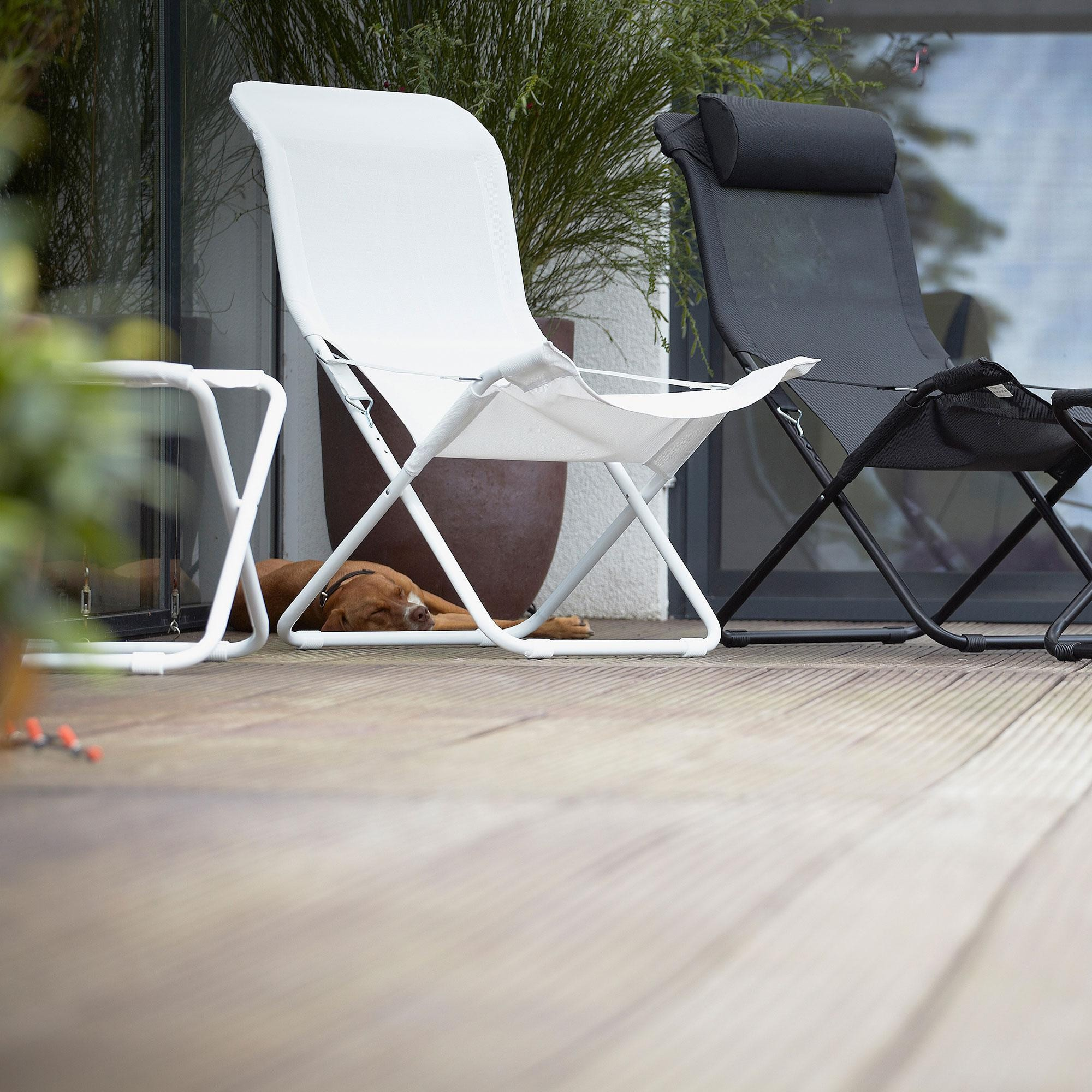 Modernistisk Jan Kurtz Limited Edition Fiam Fiesta Sun Chair | AmbienteDirect OB-52